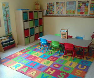 Daycare and preschool are social spaces